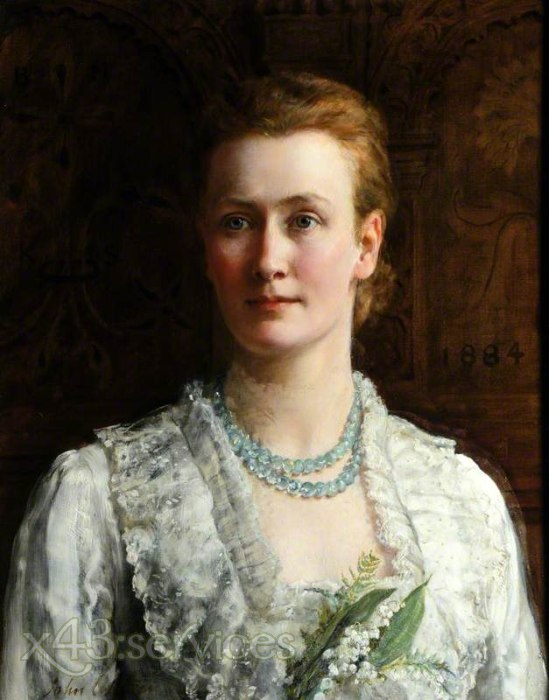 John Collier - Blanche Parish Lady Shuttleworth