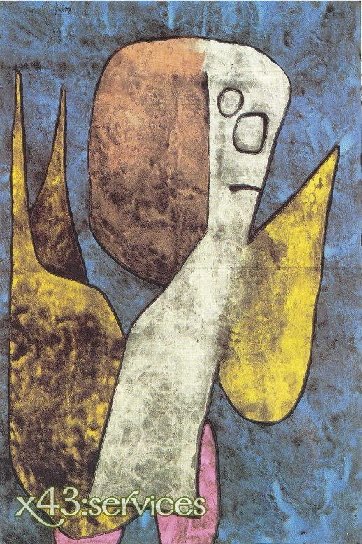 Paul Klee - Armer Engel