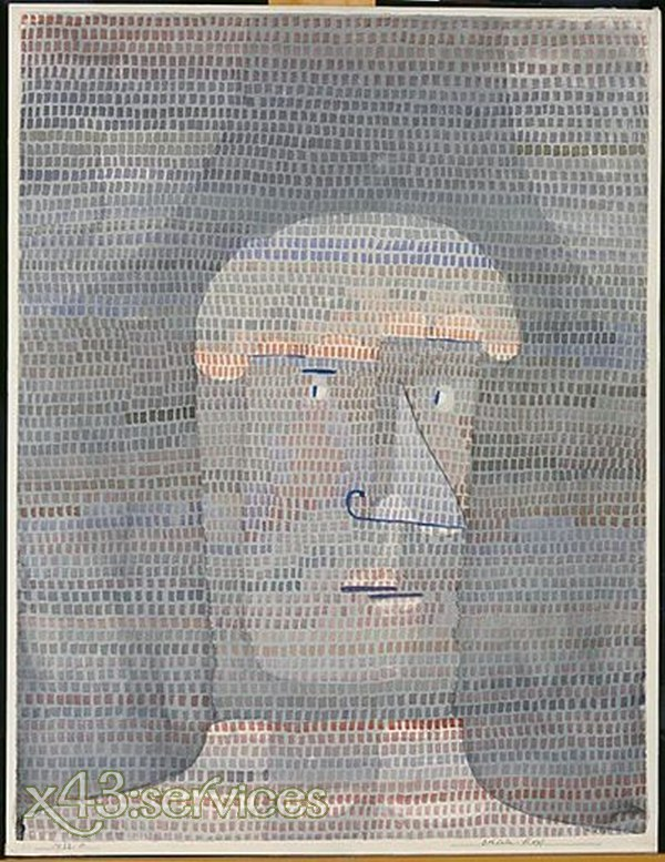Paul Klee - Athletenkopf