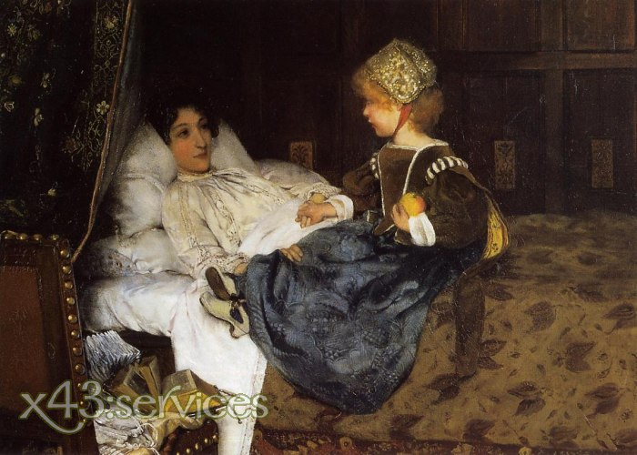 Sir Lawrence Alma-Tadema - Always Welcome - immer willkommen