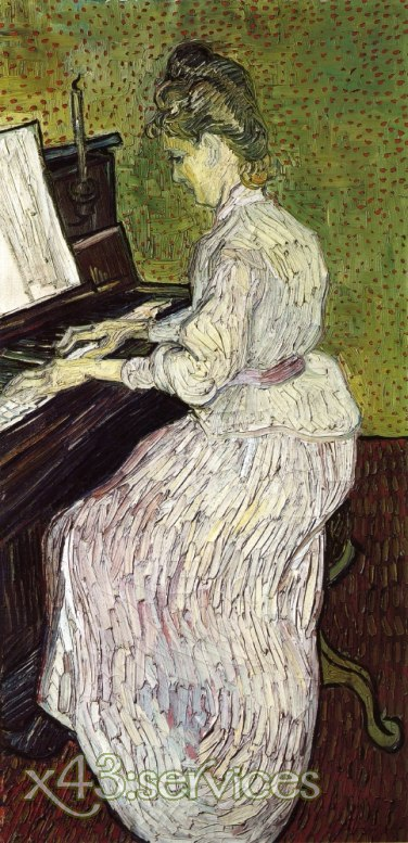 Vincent van Gogh - Marguerite Gachet am Piano