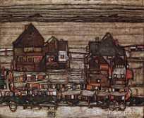 Nach Paul Cezanne eine Gemälde Reproduktionen alter Meister