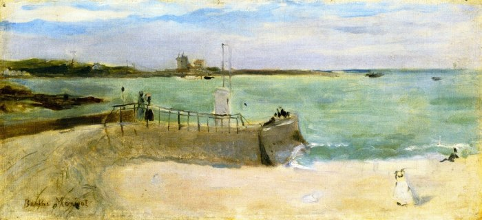 Berthe Morisot - Am Strand von Portrieux - On the Beach at Portrieux