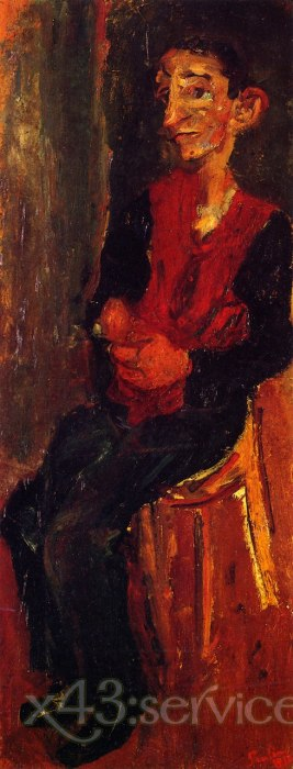 Chaim Soutine - Alfred Bellhop in Auxerre