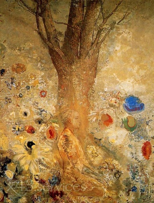 Odilon Redon - Buddha in seiner Jugend - Buddah in His Youth