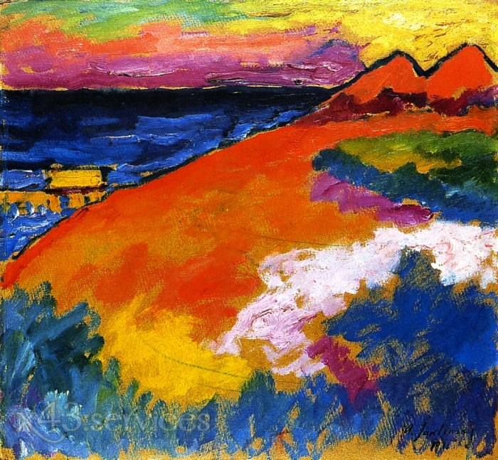 Alexej von Jawlensky - An der Ostsee - On the Baltic