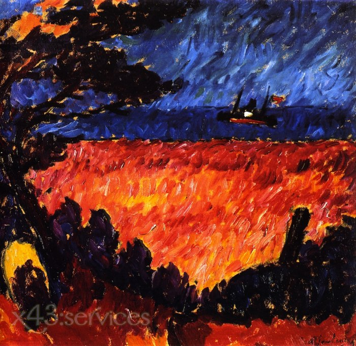Alexej von Jawlensky - An der Ostsee - On the Baltic 2