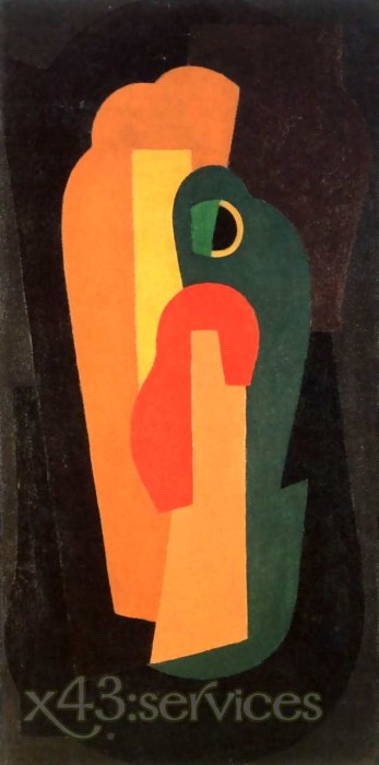 Mainie Jellett - Abstrakte Komposition - Abstract Composition 1922-1