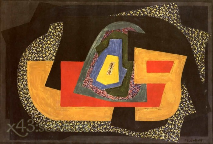 Mainie Jellett - Abstrakte Komposition - Abstract Composition 1922-2