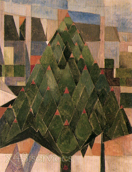 Theo van Doesburg - Baum - Tree