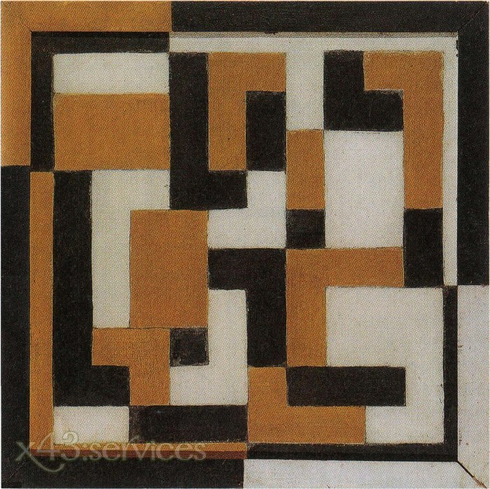 Theo van Doesburg - Komposition IX