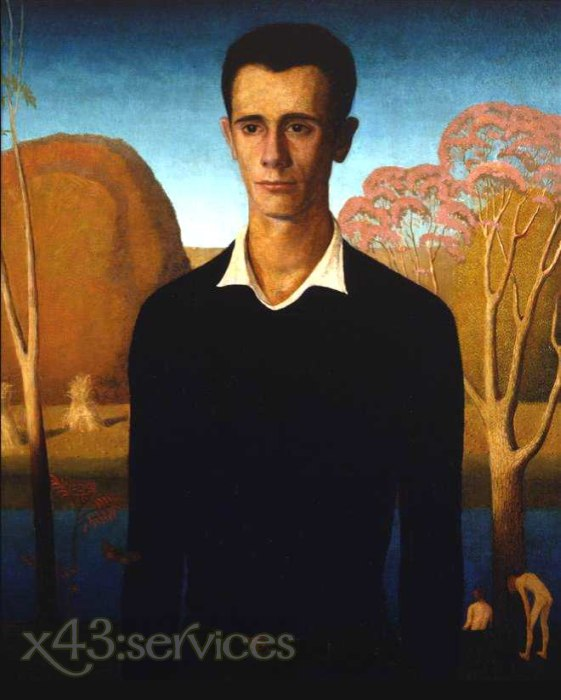Grant Wood - Arnold wird erwachsen - Arnold Comes of Age