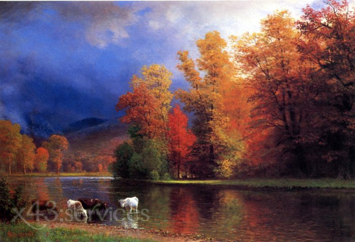 Albert Bierstadt - Auf dem Saco - On the Saco
