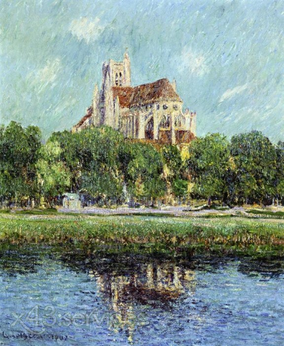 Gustave Loiseau - Auxerre Kathedrale - Auxerre Cathedral 1