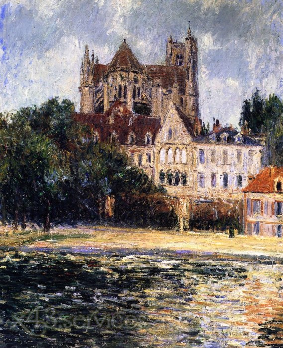 Gustave Loiseau - Auxerre Kathedrale - Auxerre Cathedral