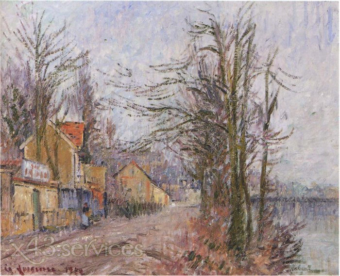 Gustave Loiseau - Baumbestand in Pontoise - Stand of Trees in Pontoise