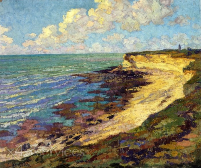 Gustave Loiseau - Am Meer - By the Sea