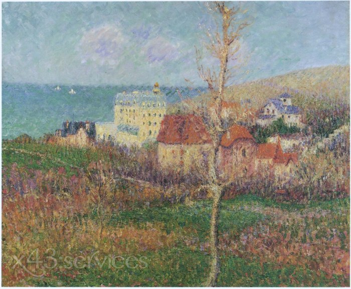 Gustave Loiseau - An der Kueste der Normandie - At the Coast of Normandy