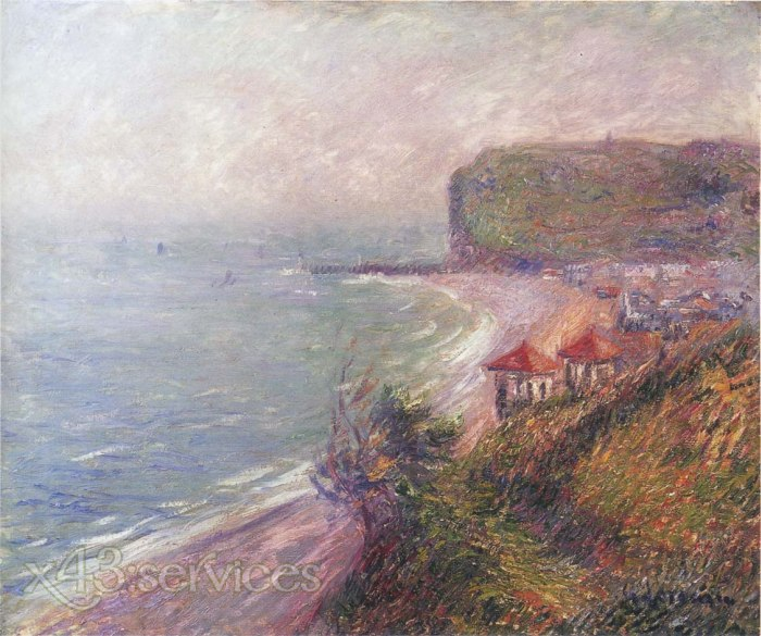 Gustave Loiseau - Anlegestelle in Fecamp - Jetty at Fecamp