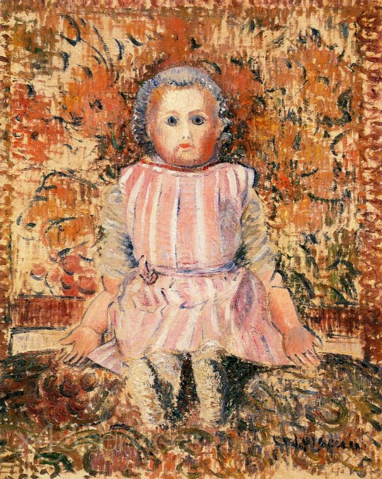 Gustave Loiseau - Die Puppe - The Doll