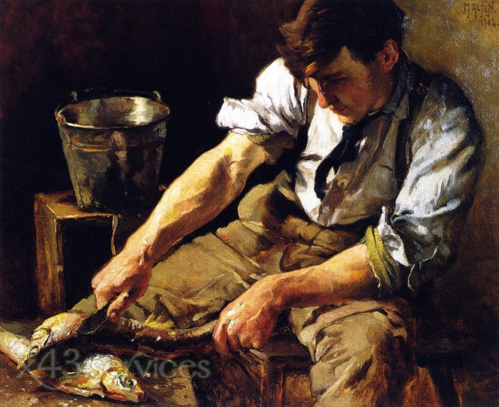 Mathias J Alten - Der Fischentschupper - The Fish Scaler