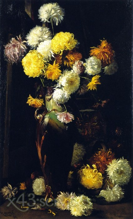 Mathias J Alten - Chrysanthemen - Chrysanthemums 1