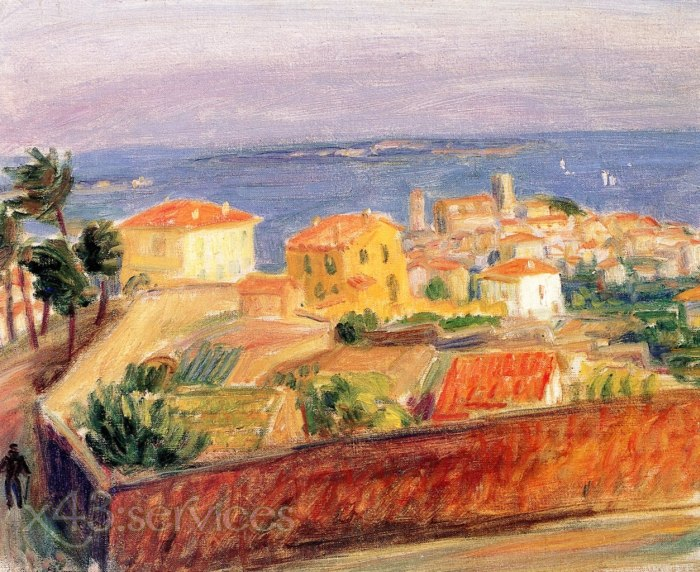 William James Glackens - Cannes