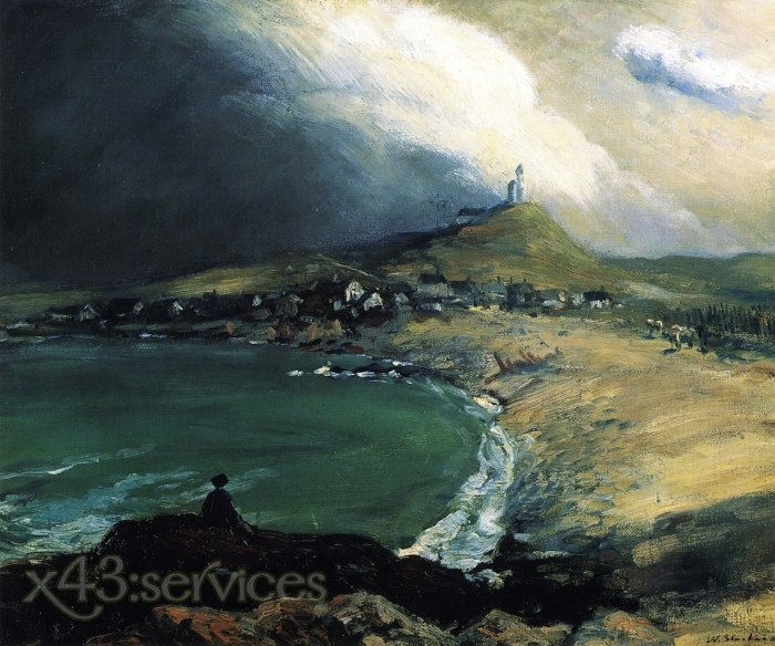 William James Glackens - Cap Noir Saint Pierre