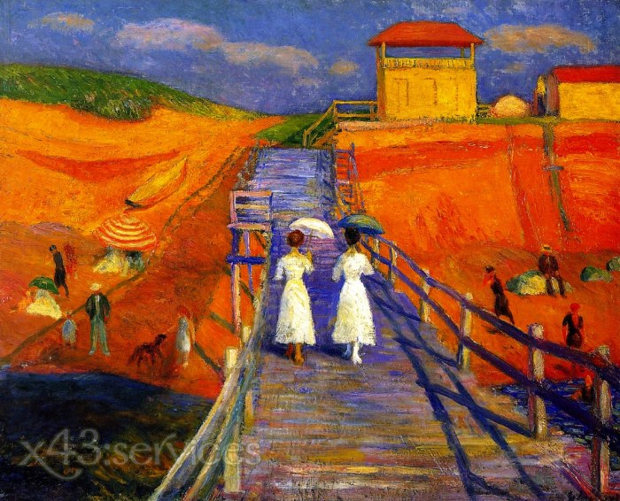 William James Glackens - Cape Code Pier