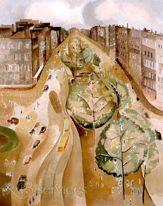 Alice Bailly - Die Allee - The Avenue
