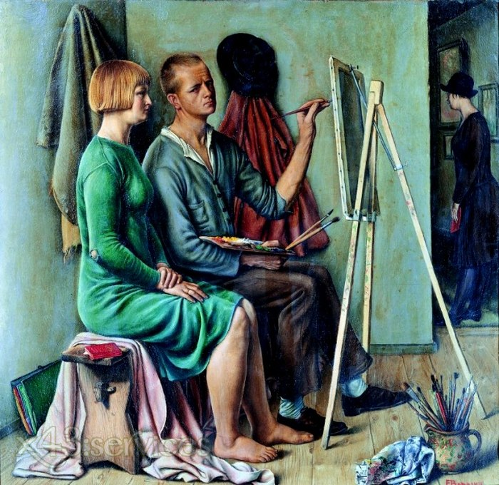 Francois-Emile Barraud - Das Studio - The Studio