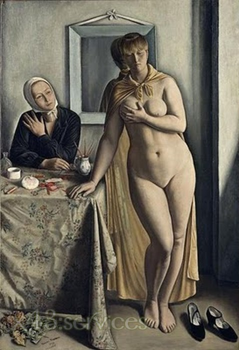 Francois-Emile Barraud - Die Toilette - The Toilette