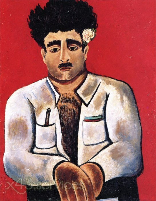 Marsden Hartley - Adelard der Ertrunkene Meister des Phantom - Adelard the Drowned Master of the Phantom
