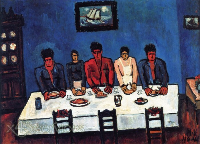 Marsden Hartley - Das letzte Abendmahl der Fischer - The Fishermen s Last Supper