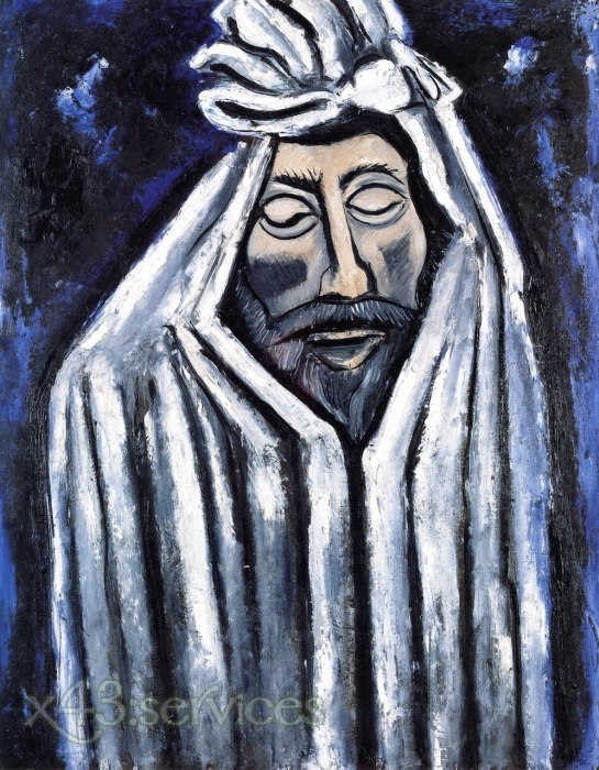 Marsden Hartley - Der letzte Blick des John Donne - The Last Look of John Donne