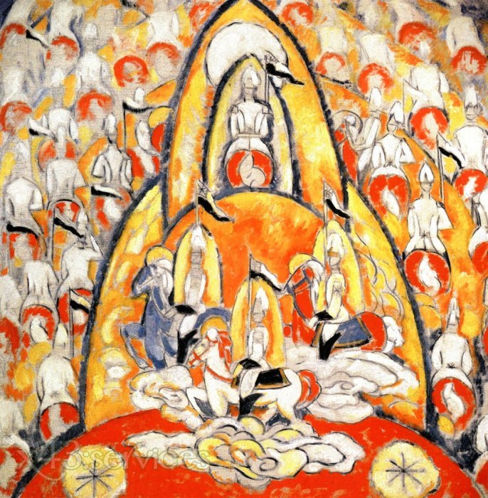 Marsden Hartley - Die Krieger - The Warriors