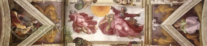 Michelangelo Buonarroti - Das achte Joch der Decke - The eighth bay of the ceiling