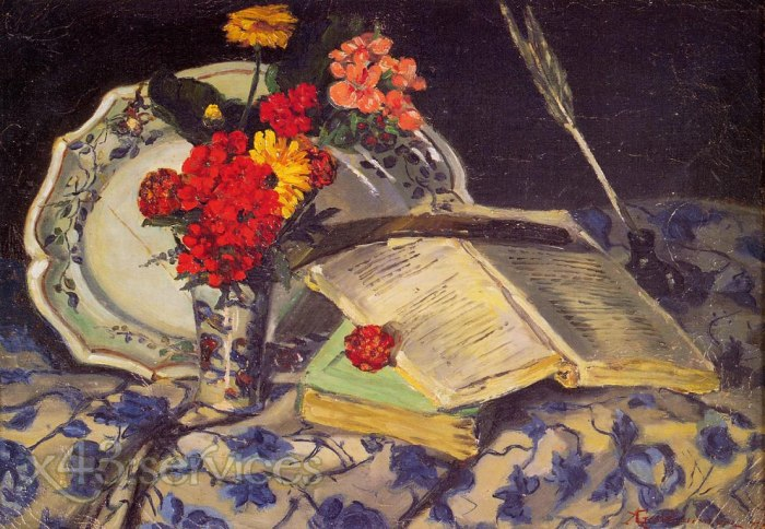 Armand Guillaumin - Stillleben - Still Life