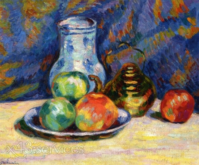 Armand Guillaumin - Stillleben mit Aepfeln - Still Life with Apples 1