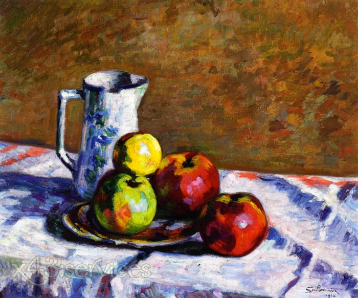 Armand Guillaumin - Stillleben mit Aepfeln - Still Life with Apples 2