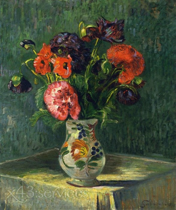 Armand Guillaumin - Stillleben mit Blumen - Still Life with Flowers