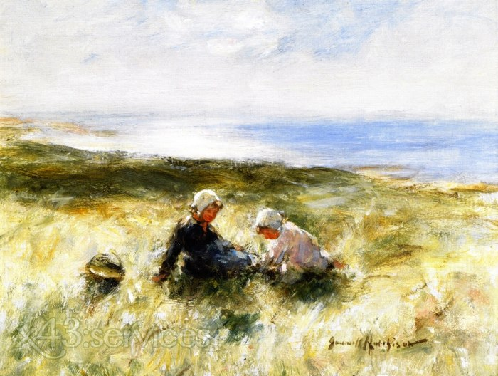 Robert Gemmell Hutchison - Auf dem Sand Carnoustie - On the Sands Carnoustie