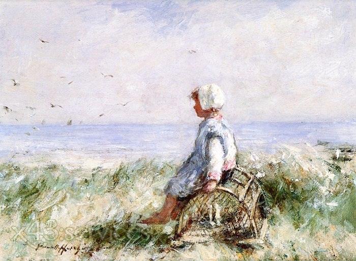 Robert Gemmell Hutchison - Auf der Kueste - On the Shore