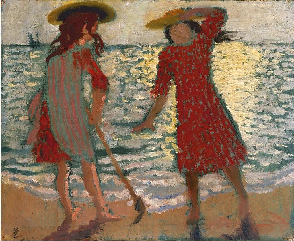 Maurice Denis - Am Strand - On the Beach