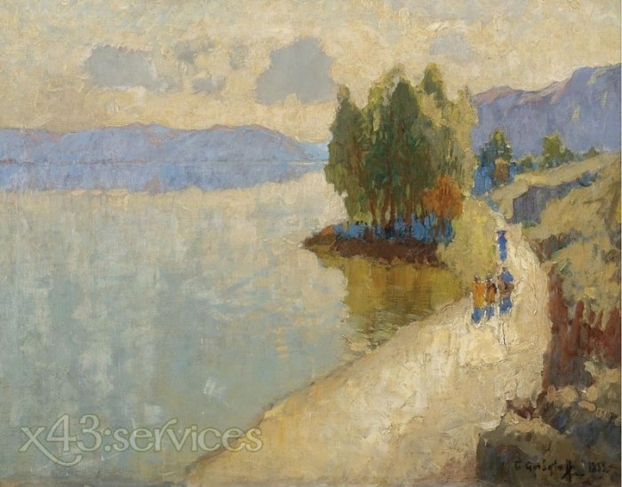 Konstantin Gorbatov - Am See - By the Lake
