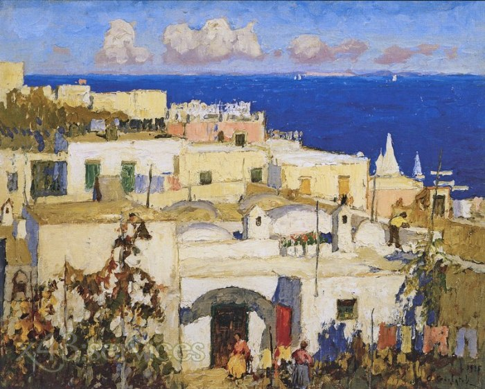 Konstantin Gorbatov - Das Blaue Meer Capri - The Blue Sea Capri