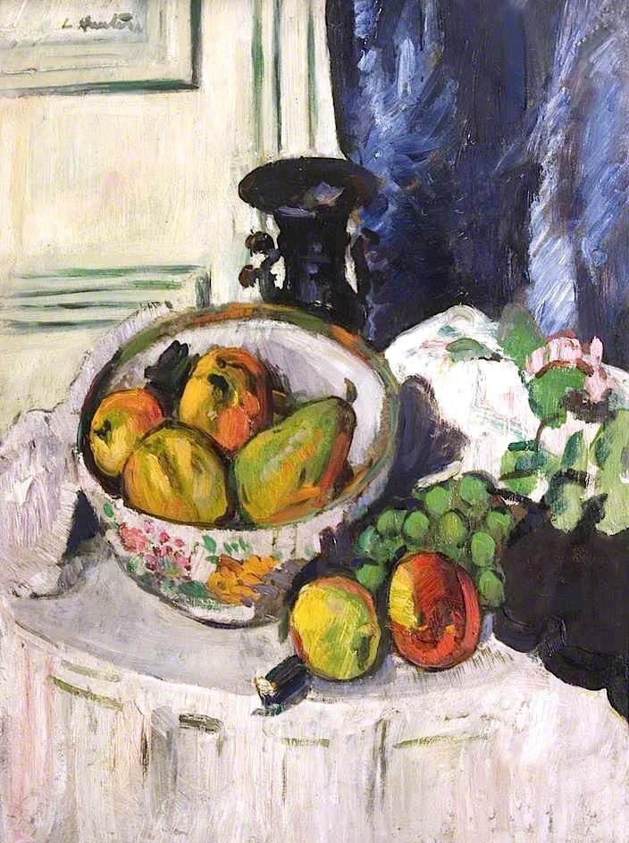 George Leslie Hunter - Birnen und Obst - Pears and Fruit