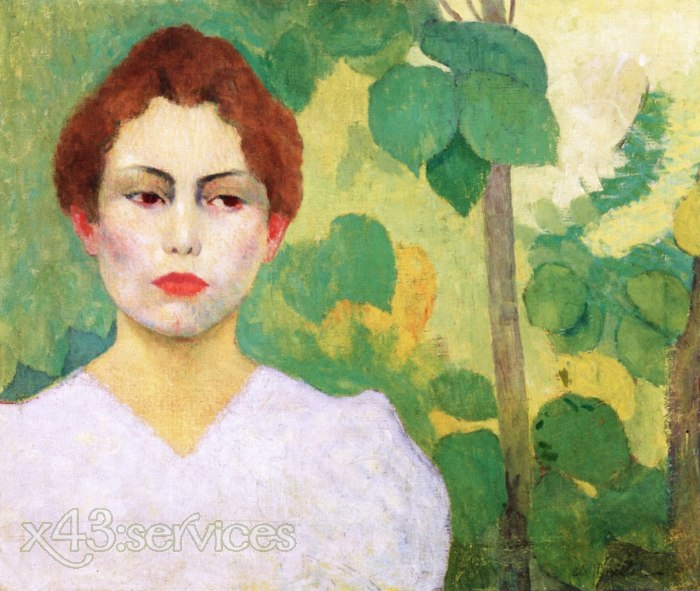 Aristide Maillol - Frau in Weiss - Woman in White