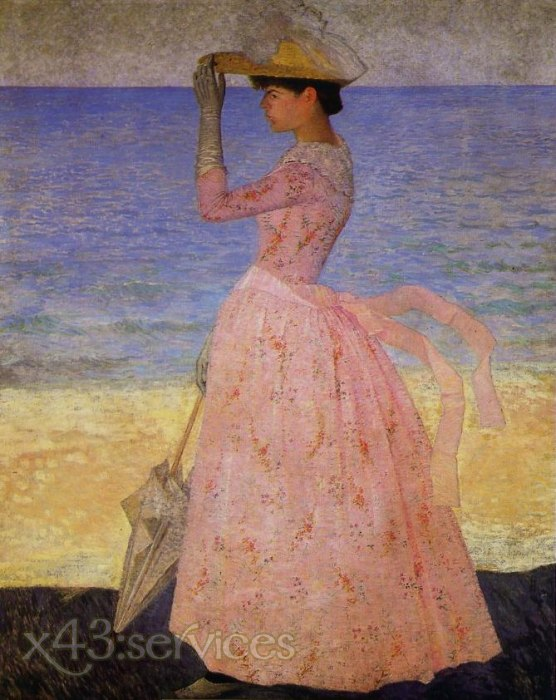 Aristide Maillol - Frau mit Regenschirm - Woman with Umbrella