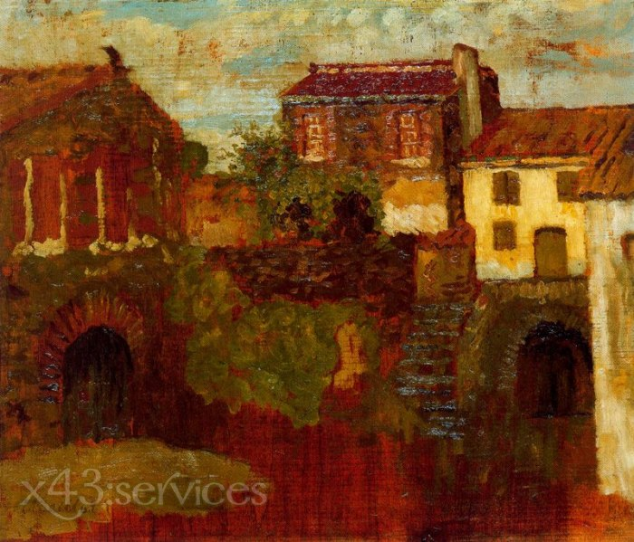 Aristide Maillol - Das Rote Haus - The Red House
